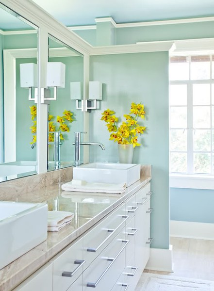 white and turquoise bathroom turquoise house 21397