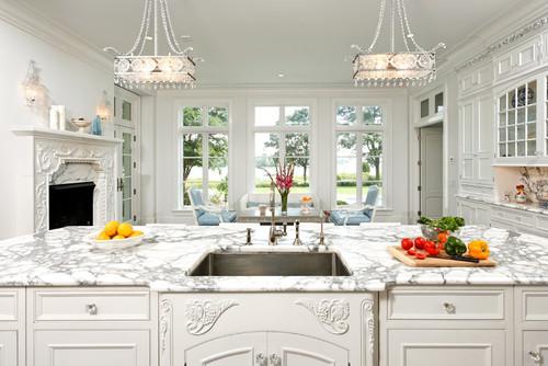 elegant white kitchen cabinets 919