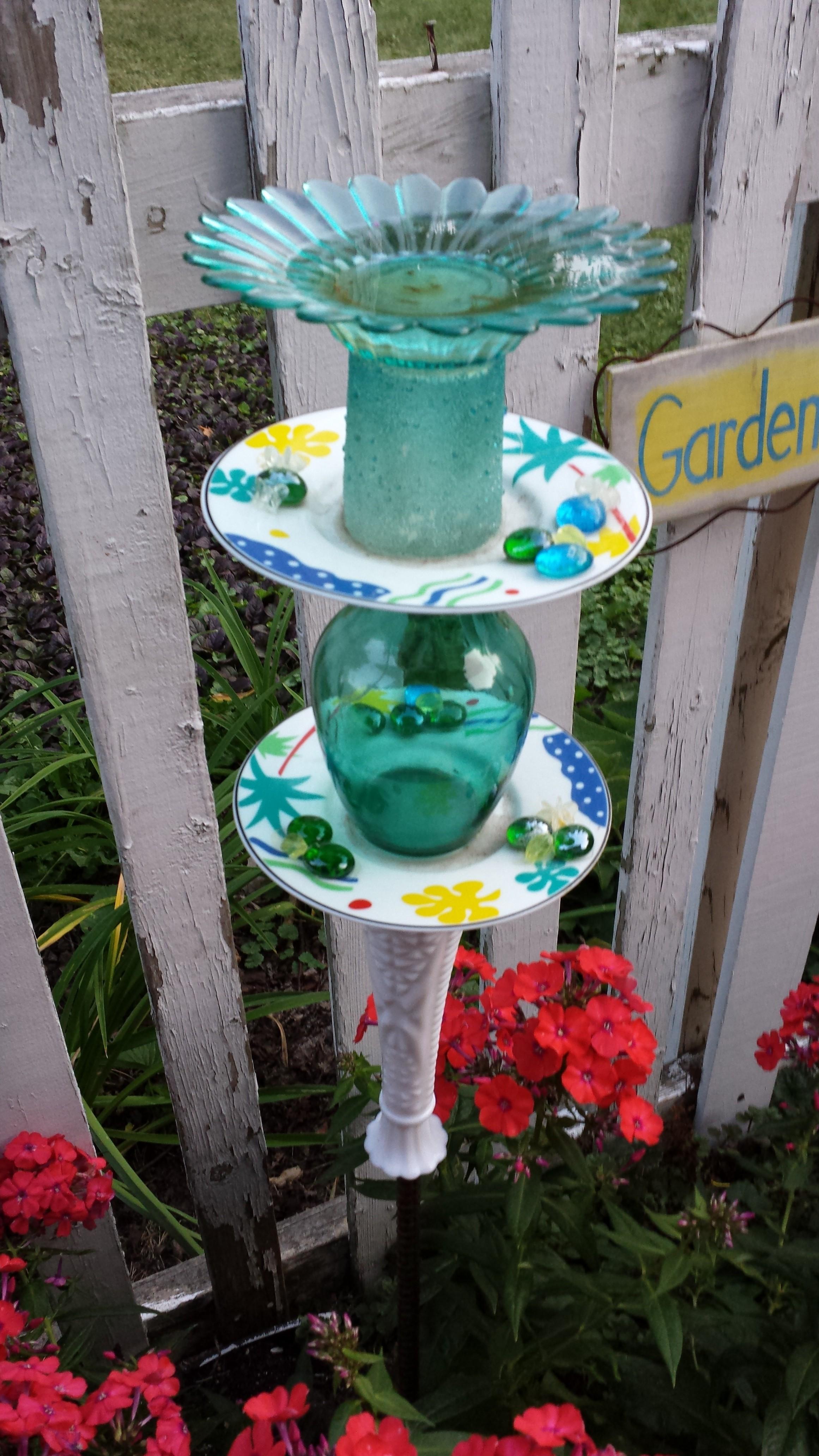 Garden Walk - Fairies and Gnomes Flower Garden Design on Backyard Ornaments id=23053